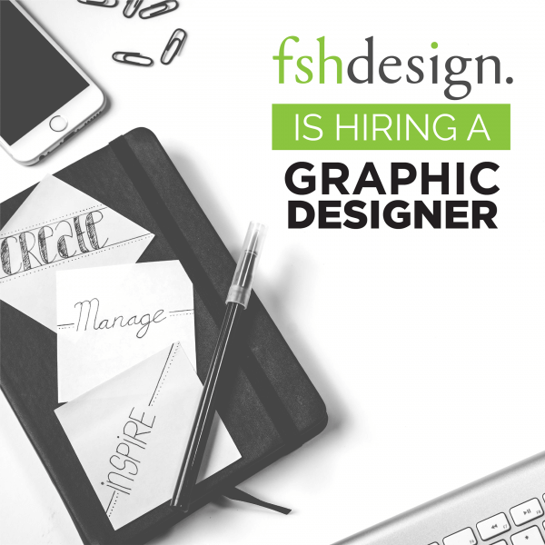 Job Posting Graphic Designer