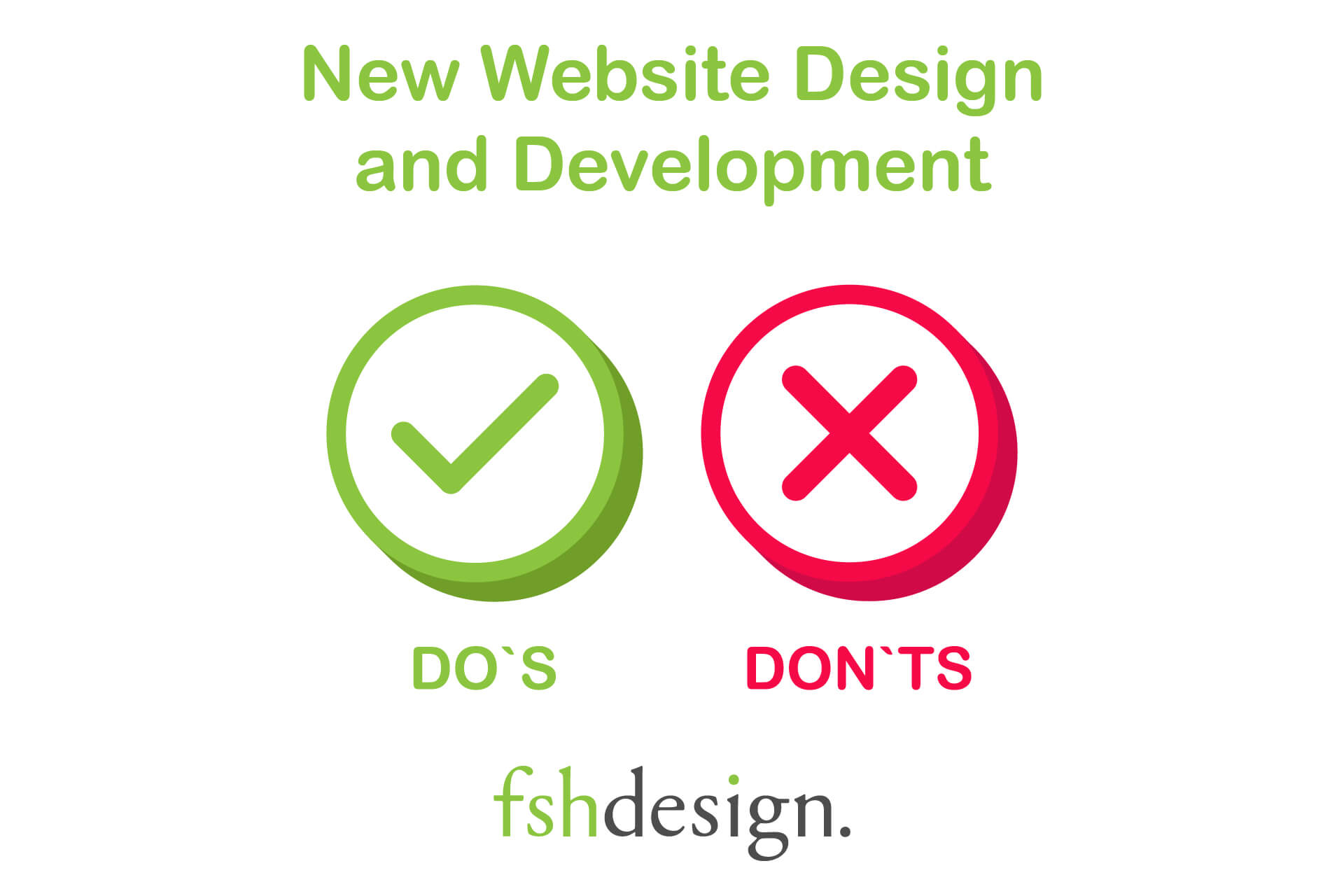 FSH Design Website Design Website Design Do's and Don'ts